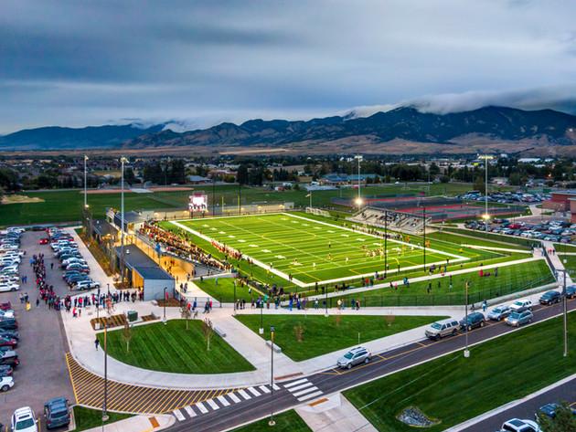 Van Winkle Stadium Bozeman, Montana