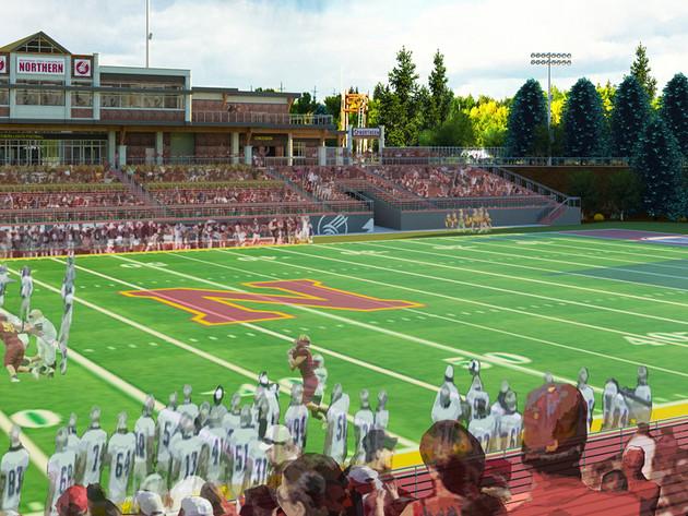 MSU Northern Stadium Havre, Montana