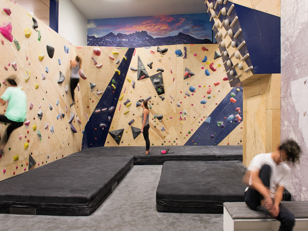 MSU Climbing Gym Bozeman, Montana