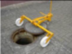 Hydraulic Manhole cover lifter uae dubai