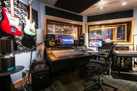 Audio Production Control Room
