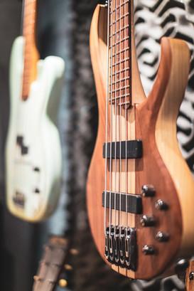 The Jam Lab Bass Guitars