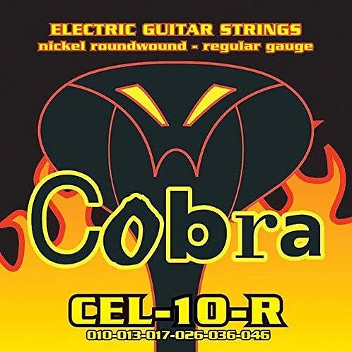 Cobra CEL-10-R Electric Guitar Strings (10-46) Regular Student Set