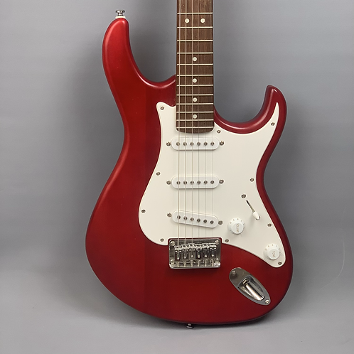 Cort G100 Electric Guitar in Open Pore Black Cherry Red