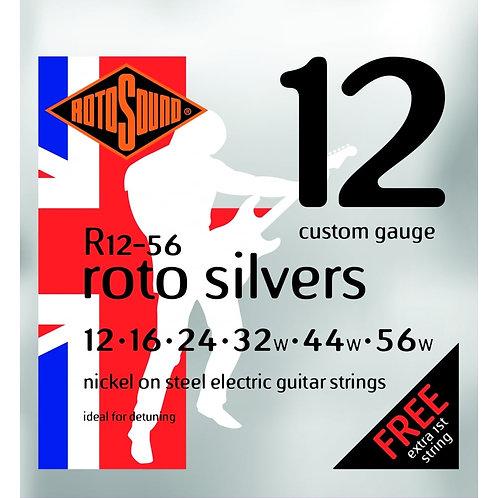 Rotosound R12-56 Custom Gauge Electric Guitar Strings (12-56)