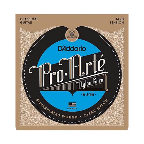 D'Addario EJ46 Pro-Arte Nylon Classical Guitar  Strings (Tie on) Hard Tension