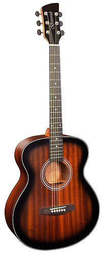 Brunswick Grand Auditorium Acoustic Guitar in Satin Tobacco Burst
