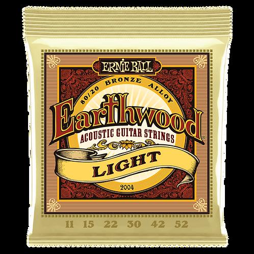 Ernie Ball Earthwood Light Acoustic Guitar Strings (11-52)
