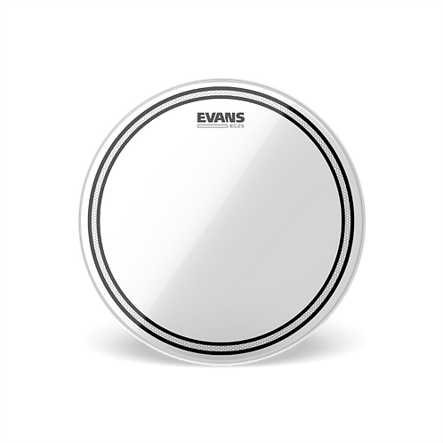 Evans EC2S Clear Drum Head