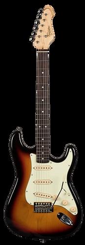 Revelation RTS-62 Electric Guitar in 3 Tone Sunburst