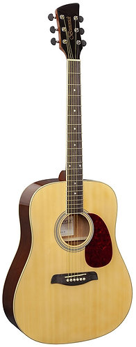 Brunswick Dreadnought Acoustic Guitar in Natural Gloss