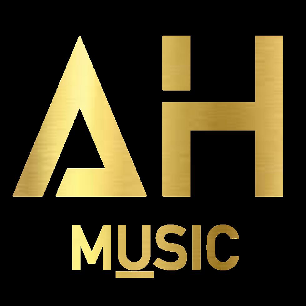 AH Music Logo Gold PNG File