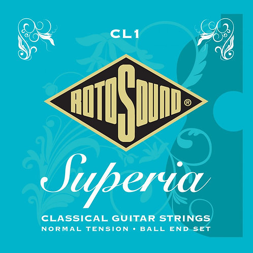 Rotosound CL1 Superia Classical Guitar Strings (Ball End) Normal Tension