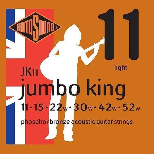 Rotosound JK11 Jumbo King Acoustic Strings (11-52)