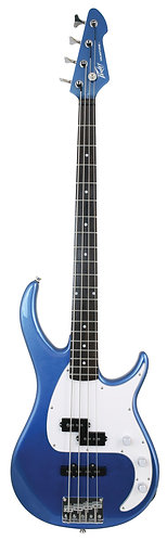 Peavey Milestone Bass Guitar in Gulfcoast Blue