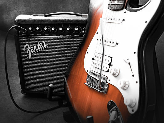 Electronics Cleaning at AH Music, Grantham | Electric Guitar Services