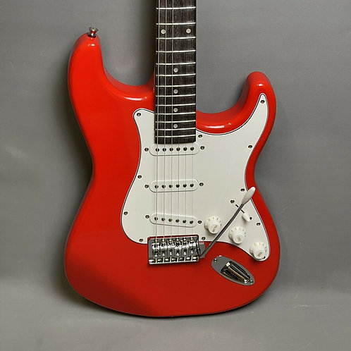 Johnny Brook SST01-E RD Electric Guitar in Red