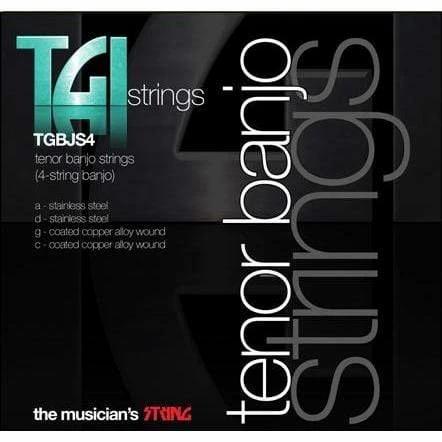 TGI Tenor Banjo Strings (TGBJS4) 4-String Banjo