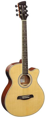 Brunswick Grand Auditorium Electro Acoustic Guitar in Natural Gloss