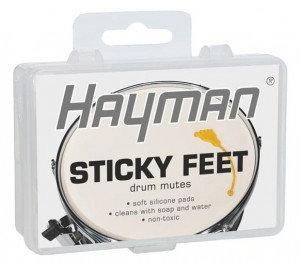 Hayman Sticky Feet Drum Mutes