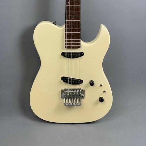 Westone Clipper Tele Electric Guitar in White