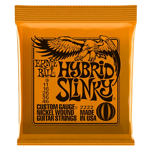 Ernie Ball Hybrid Slinky Electric Guitar Strings (9-46)