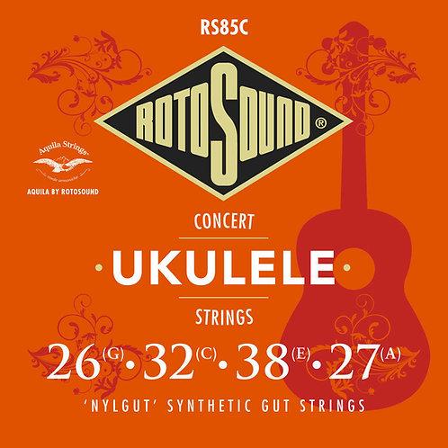 Aquila by Rotosound RS85C Nylgut Ukulele Strings (Concert)