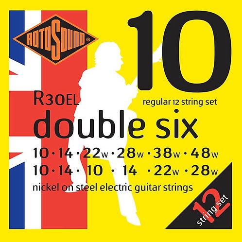 Rotosound R30-EL Regular 12-String Electric Guitar Strings (10-48)