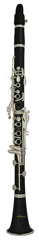 Artemis Bb Clarinet Outfit: Silver-plated
