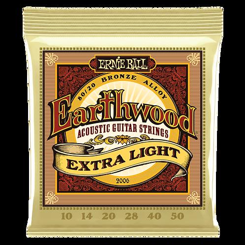 Ernie Ball Earthwood Extra-Light Acoustic Guitar Strings (10-50)