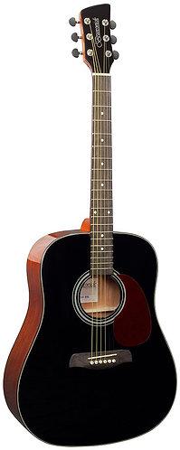 Brunswick Dreadnought Acoustic Guitar in Black Gloss