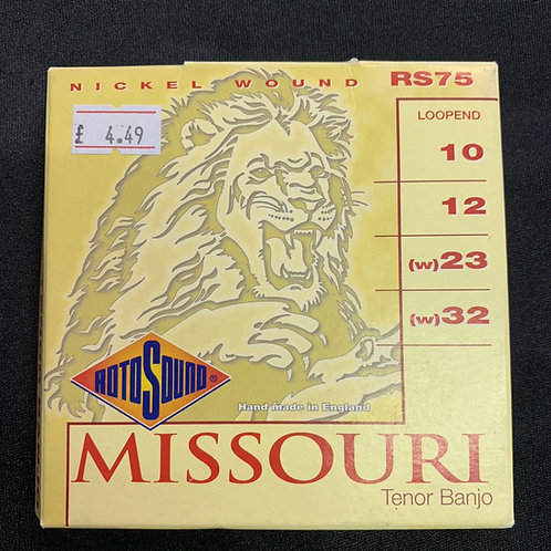 Rotosound Missouri Tenor Banjo Strings (RS75) 4-String Banjo