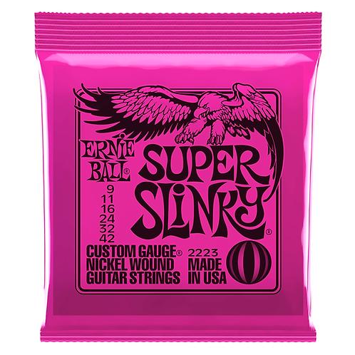 Ernie Ball Super Slinky Electric Guitar Strings (9-42)