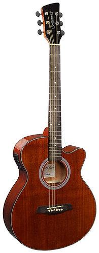 Brunswick Grand Auditorium Electro Acoustic Guitar in Mahogany Gloss