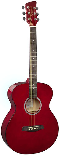 Brunswick Grand Auditorium Acoustic Guitar in Dark Red Gloss