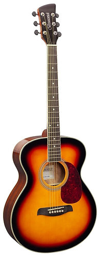 Brunswick Grand Auditorium Acoustic Guitar in Sunburst Gloss