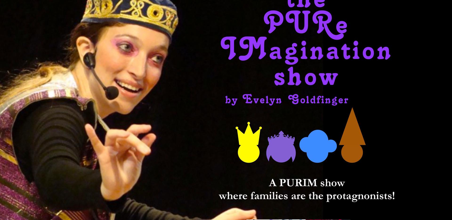 The Pure Imagination show flyer 2021 lan