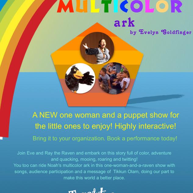 Noah's multicolor ark show flyer 2018.jp