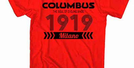 CINELLI - T-SHIRT COLUMBUS 1919