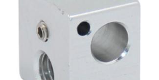 BLOCCO TERMICO IN ALLUMINIO 16X16X12mm E3D V5