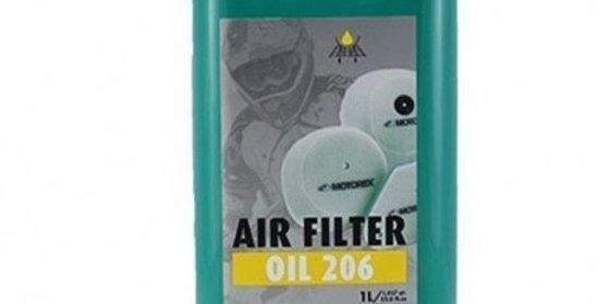 AIR FILTER OIL 206 (OLIO PER FILTRO ARIA VERDE) - MOTOREX