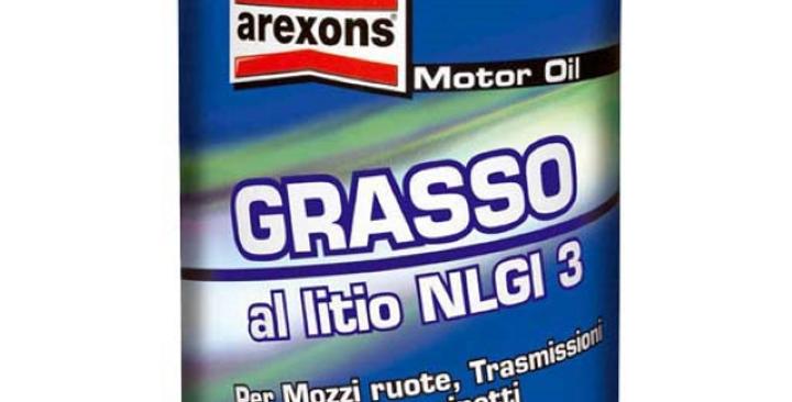 AREXONS GRASSO AL LITIO NLGI 3 (0,85 kg)