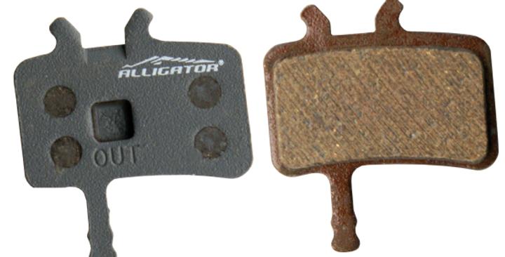 ALLIGATOR - PASTIGLIE FRENO PER PROMAX DSK-950