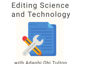Editing Science and Technology.