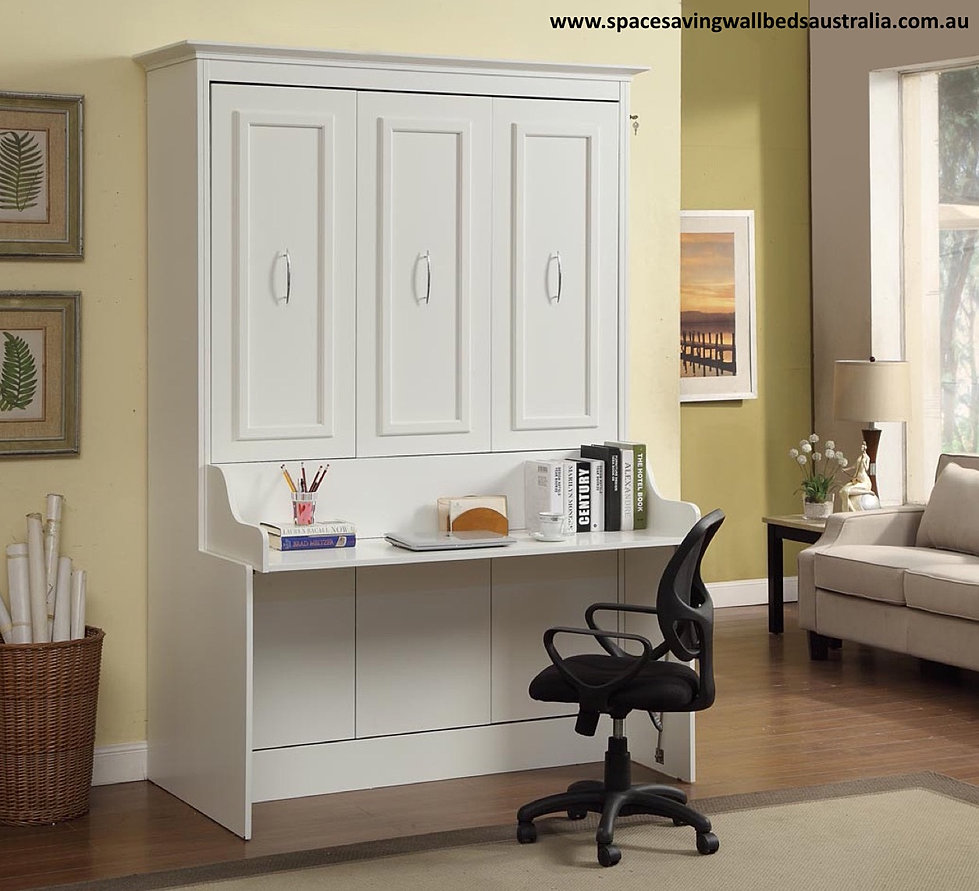Space saving wall beds australia do it yourself and save the desk wall bed amipublicfo Images