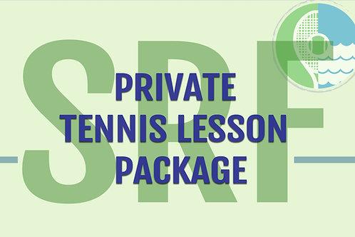 SRF Private Tennis Package