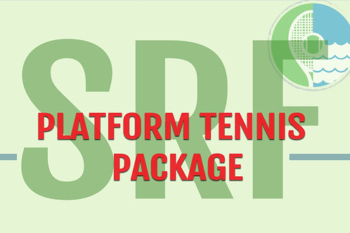 SRF Private Platform Tennis Package