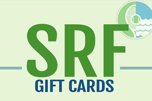 $50 SRF Gift Certificate