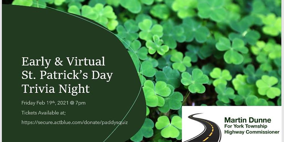 St Patrick's Day Virtual Trivia Night