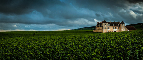 Château du clos de vougeot - Panoramique.